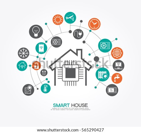 Home automation stock images royalty free images for Concept home com