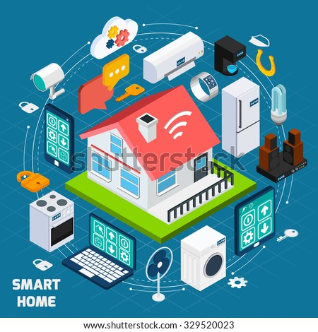 Internet of things stock images royalty free images for Smart home technology definition