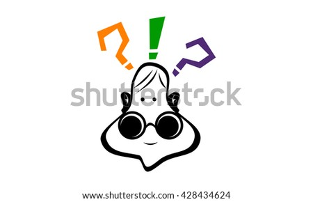 Smart People Solutions - stock vector
