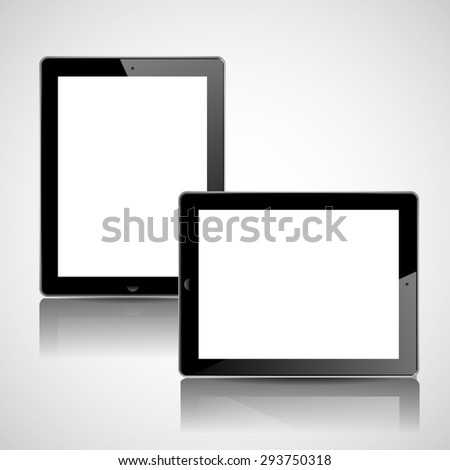 Smart phone tablet mock up.