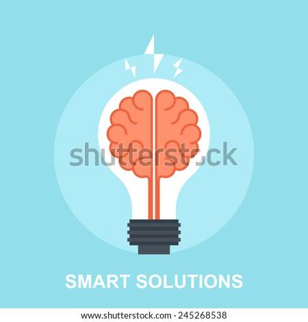 Smart Solutions - stock vector