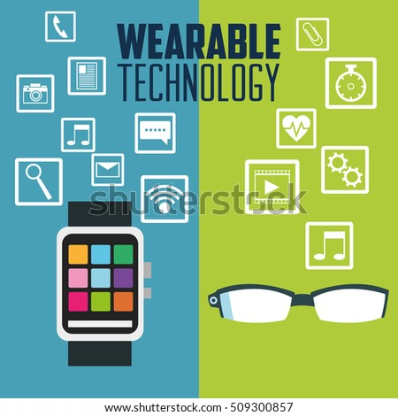 Smart watch glasses and wearable technology