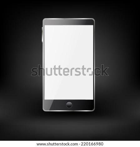 Smartphone editable file. Original design. - stock vector