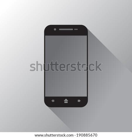 Smartphone, EPS8 illustration - stock vector