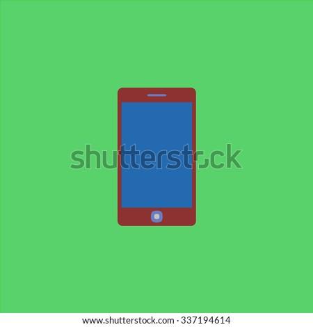 Smartphone. Icon Vector. Icon Picture. Icon Graphic. Icon Art. Icon JPG. Icon JPEG. Icon EPS. Icon AI. Icon FLAT. Icon SIMPLE - stock vector