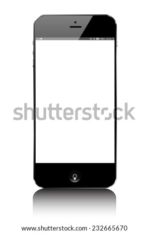 smartphone Moibile similar iphone - stock vector