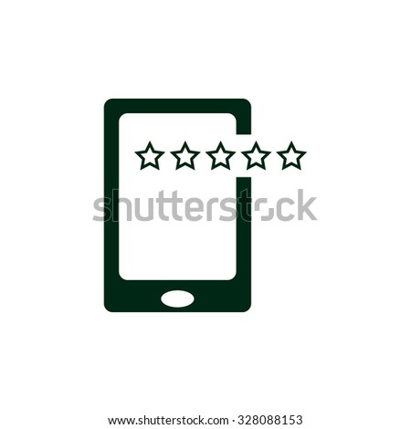 Smartphone, phone, mobile phone. icon. vector design