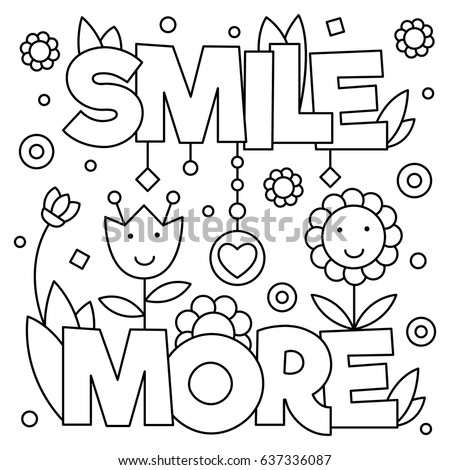 Smiling coloring pages ~ Coloring Page Stock Images, Royalty-Free Images & Vectors ...