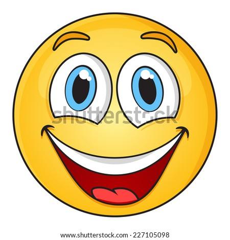 Smiley Face - stock vector