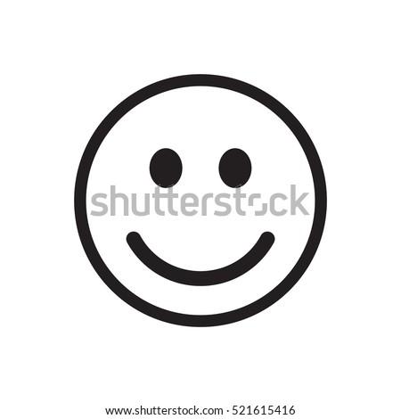 smiley icon vector stock vector 2018 521615416 shutterstock rh shutterstock com smile victoria smiley vector download