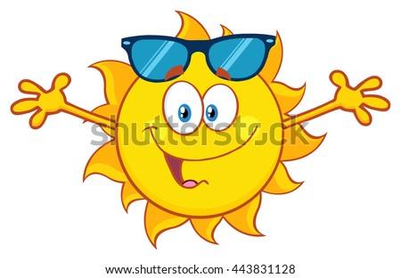 D Render Sun Magnifying Glass Stock Illustration - Artist creates art power sunlight magnifying glass