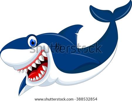 Bad Cartoon Shark Stock Images Royalty Free Vectors