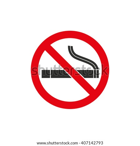 Smoke   vector icon. Black  illustration isolated on white  background for graphic and web design.