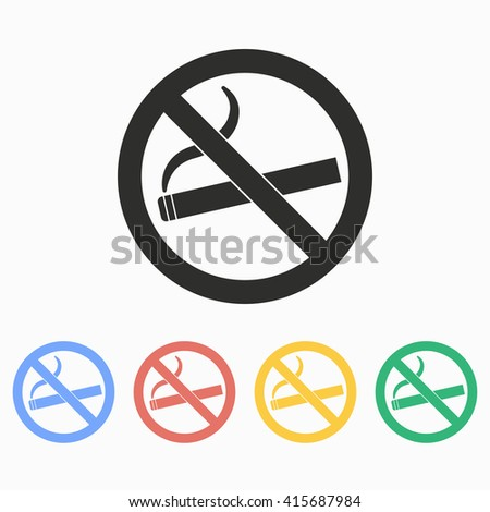 Smoke  vector icon. Illustration isolated on white  background for graphic and web design.