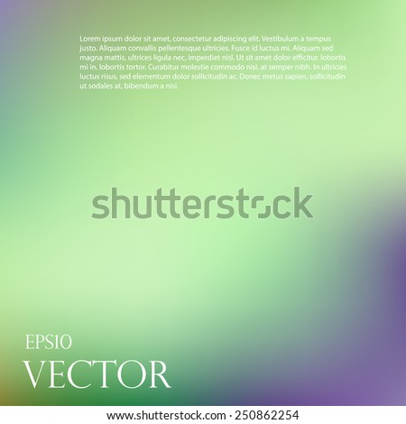 Smooth abstract colorful background - eps10 - stock vector