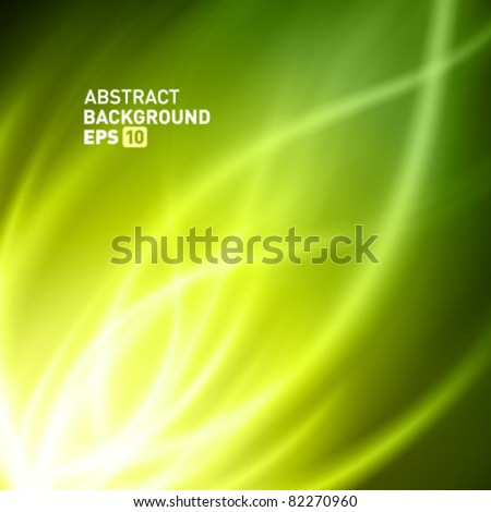 Smooth light lines vector background eps 10 - stock vector