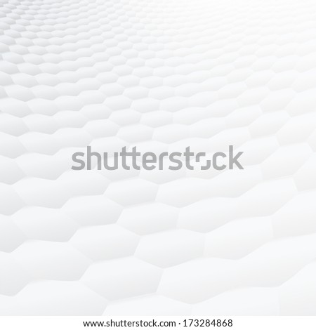 Smooth & soft textured background with hexagonal shaped design. Perspective cover design (CMYK) - stock vector
