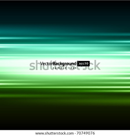 Smooth technology light lines vector background - stock vector