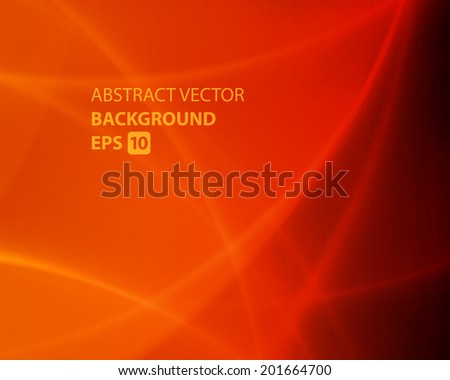 Smooth twist light lines waves vector background - stock vector