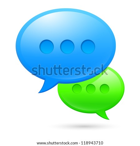 Sms icons. Illustration on white background for design - stock vector