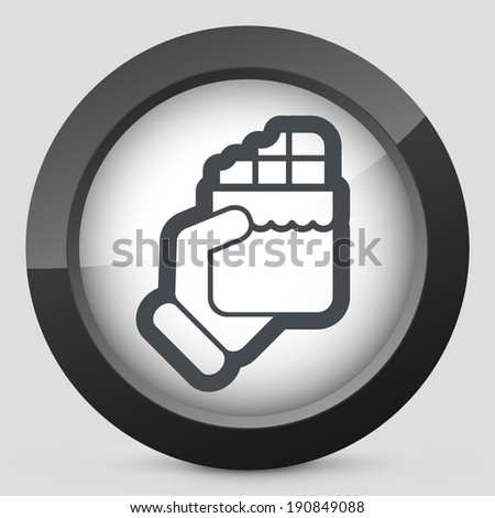 Snack icon - stock vector