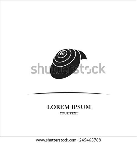 Snail - stock vector