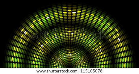 Snake - vector abstract background - stock vector