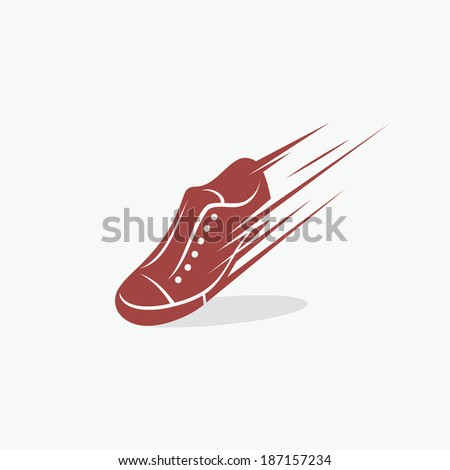 Sneakers symbol - vector illustration - stock vector