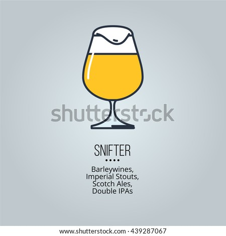 snifter glass icon