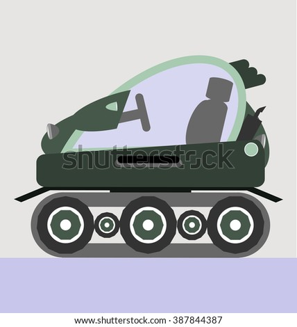 snow car vector