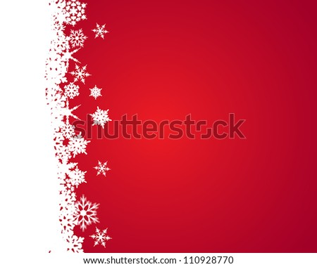 snow flakes. snow flakes concept - stock vector
