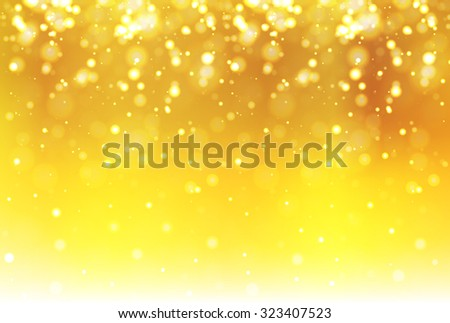 Snow light background, yellow.