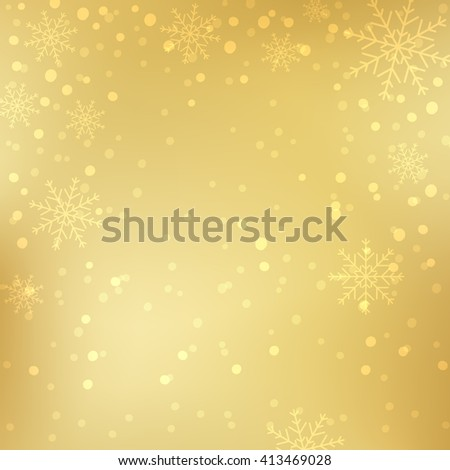 Snowflake background, snowflake decorations, Christmas Decoration.  - stock vector