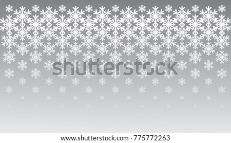 snowflake, Christmas ornament, border, pattern, halftone effect