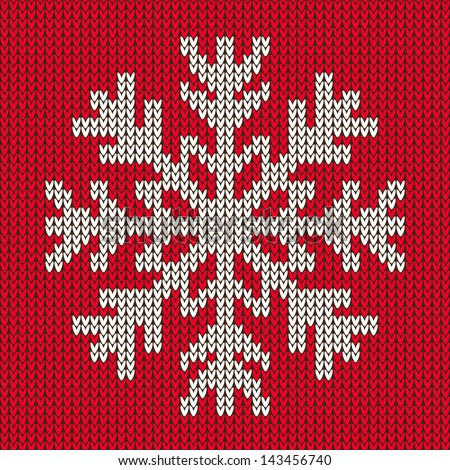Snowflake Jumper Knitting Pattern : Stock Images similar to ID 119756986 - red sweater with santa and his...