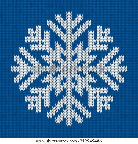 Snowflake Knit Picswe