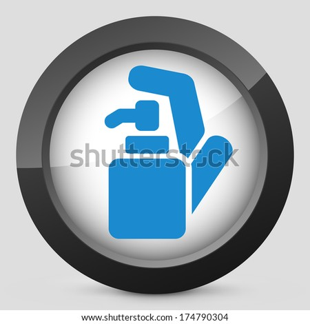 Soap dispenser - stock vector