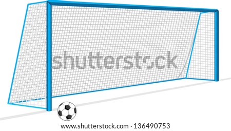 stock-vector-soccer-ball-and-gate-isolat