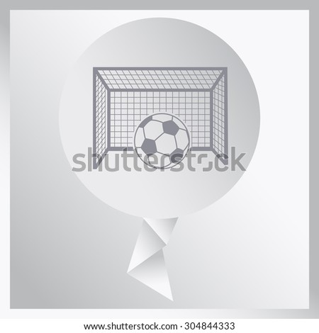 Soccer ball and play