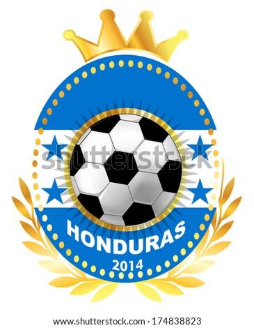soccer ball on honduras flag stock vector 174838823 shutterstock rh shutterstock com honduras soccer badge honduras soccer league teams