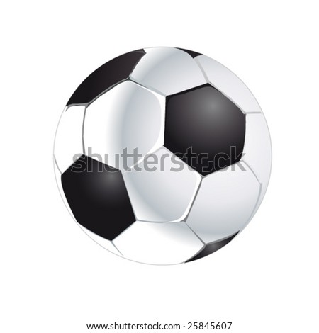 soccer ball - vector collection