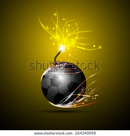 Breathtaking soccer ball vector photos
