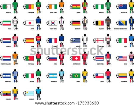 football country logos