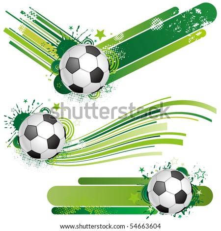soccer design element - stock vector