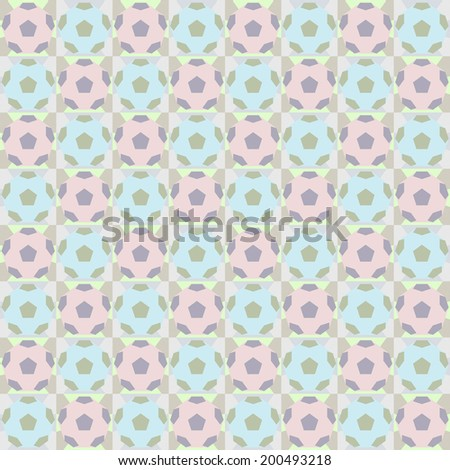 soccer pattern - seamless impressionist design vector illustrations - stock vector