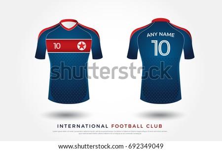 north korea soccer jersey