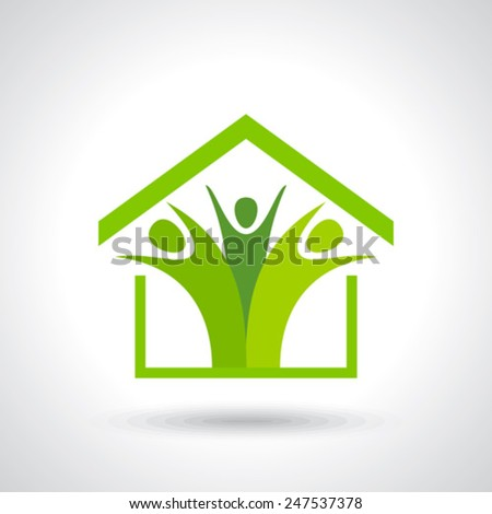 Social Marketing Network concept symbol. Start up business abstract idea. - stock vector