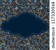 Social Media Background with Icons Cloud. Seamless Vector Texture. - stock vector