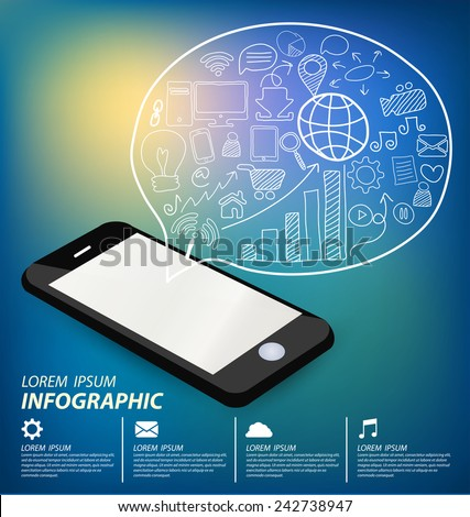 Social media concept vector Illustration