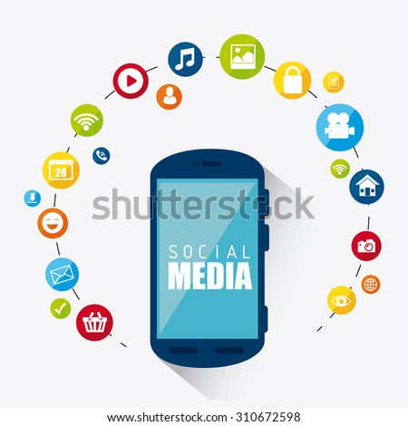 Social media design, vector illustration eps 10.